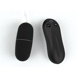 Wholesale Mini Wireless Vibrator - Black Wireless Remote Control Vibrating Eggs Vibrator Mini 20 Speeds Vibrating Vibrators Sex Toy Sex Product for Women EF030603