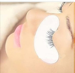 Wholesale Eye Pads For Extension - Wholesale-200pairs under eye pads the thinest lint free Eye Gel patches for eyelash extension from south korea(FEY0106B)Free shipping