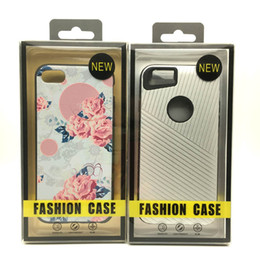 Wholesale Empty Leather Box - Empty Retail Package Plastic Box Packaging For iPhone 6 7 8 x plus Samsung s7 note8 Galaxy Mobile Phone Hard Leather Case High-grade