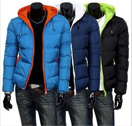 Wholesale Coat Army Fashion For Men - Winter Jacket Men Duck Down Jacket Brand Men's Casual Fashion Thick Jackets For Men Outdoor Coat Men Large Size free shipping