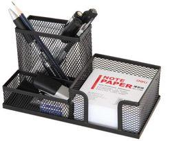 Wholesale Metal Pen Pot - Durable iron net pen holder Creative multifunction brush pot office pen container