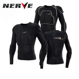 Wholesale Protective Clothing Motorcycle - Authentic German NERVE ARMOURGEL winter popular brands motocross motorcycle armor vest clothing protective gear protective clothes