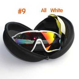 Wholesale running sun - Fashion Sun Glasses With 4 Lens Brand Polarized Jawbreaker Sunglasses For Men Women Sport Cycling Eyewear Bicycle Running Mens Sunglasses