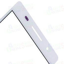 Wholesale Huawei P6 Free Shipping - Wholesale-Touch Screen Glass Panel For Huawei Ascend P6 P 6 LCD touch display digitizer screen White Free shipping