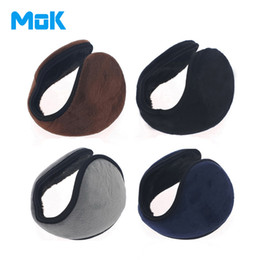 Wholesale Gifts Ear Protector - Wholesale-Winter Unisex Plush Earmuffs Super Soft Solid Earmuff Fashion Cool Warm Muffs Good Quality Ear Protector Chiristams Gift 1 Piece