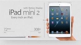 "Wholesale Mini Tablets - Refurbished iPad mini 2 Genuine Apple iPad mini 2nd Generation Wifi16 32 64G Tablet PC 7.9"" Retina Display IOS A7 DHL"