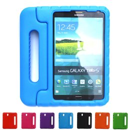 Wholesale Tablet Protective Case For Kids - Tablet PC Case For Samsung Galaxy Tab S 8.4 inch T700 Candy Colors EVA Safe Kids Durable Shockproof Handle With Stand