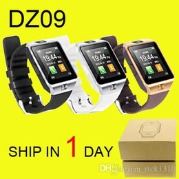 Wholesale Record Iphone Calls - NEWDZ09 Smart Watch GT08 U8 A1 Wrisbrand Android iPhone iwatch Smart SIM Intelligent mobile phone watch can record the sleep DHL Free OTH110
