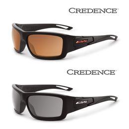 Wholesale Ess Sunglasses - ESS Credence Polarized Army Sunglasses for Men, Mirrored Copper Gray Lens, Military Ballistic 100% UVA UVB with Original Case