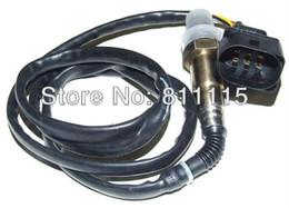 Wholesale Oxygen Sensors - Wholesale-Oxygen Sensor Lambda Sensor 06a906262 for VW Bora, 5 wire wide band oxygen sensor, Free Shipping O2 Sensor