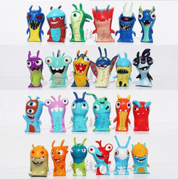 música de michael jackson Desconto 2015hot sale kids toys Slugterra PVC cartoon Action Figures kids toy figure Gifts Christmas gift 24 pieces set free shipping