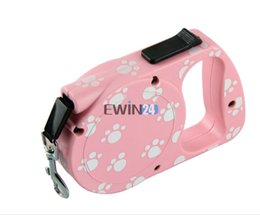 Wholesale Automatic Pet Dog Traction Rope - 4.5M Pet Traction Rope For Pet Dog Cat Automatic Retractable Strap Lead Leash New 1PCS