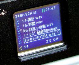 Wholesale 24bit 192k Dac - DV10A 192K 24BIT digital turntable lossless music player APE WAV MP3 AK4399 decoding DAC Coaxial Output LME49860 OP 110V~230V