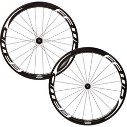Wholesale Front Hub Bearing - Free shipping 38mm full carbon bike wheels FFWD F4R white bicycle wheels T1000 3k carbon wheels with with powerway R13 ceramic bearing hubs