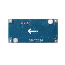 Wholesale Adjustable Dc Voltage - Ultra-small LM2596 power supply module DC   DC BUCK 3A adjustable buck module regulator ultra LM2596S 24V Hot New Arrival