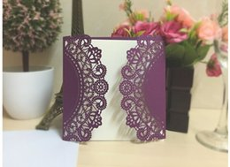 Wholesale China Wedding Invitation Cards - Wedding invitation card European fine hand-cut invitation Invitation hollow out invitations on hot selling from china suppliers