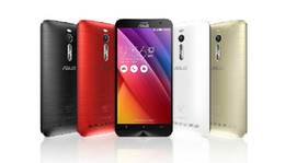 Wholesale Asus Cell Phones - 5.5 inch Asus ZenFone 2 ZE551ML Intel Atom Z3580 4GB RAM 64GB ROM Android 4.4 KitKat 1920*1080 FHD 4G LTE 13.0MP Camera Cell Phone DHL Free