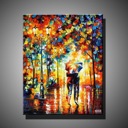 Wholesale Original Paintings Impressionist Landscapes - Free shipping handmade oil painting on canvas modern 100% Best Art scenery oil painting original directly from artist DY-156
