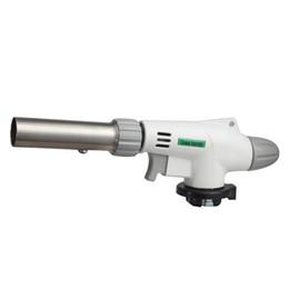 Wholesale Jet Flame Burner - super Flame Gun Jet Torch Butane Gas Blow Burner Welding Solder BBQ Soldering Lighter