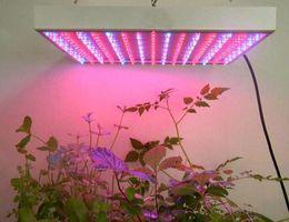 Wholesale Quad Band Led Lights - Quad-band 15W 225LED Blue + Red Led Grow Light Lamp Hydroponic Plant Panel Led Lamp Plant Grow Light Planel Led Glow Outdoor Lighting