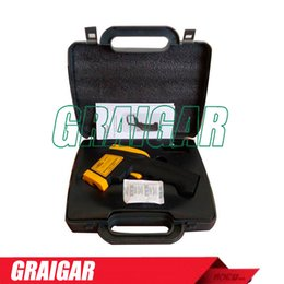 Wholesale Ratio Digital - AR842A+ Digital Infrared Thermometer Distance Spot Ratio 12:1 Emissivity0.10 ~ 1.00 adjustable