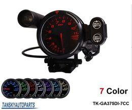 "Wholesale Stepper Motor Gauges - DEFI 3.75"" STEPPER MOTOR DEFI TACHOMETER CAR METER AUTO GAUGE 7 COLOR Default color RED TK-GA375DI-7CC"