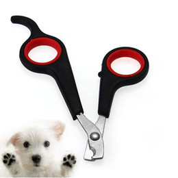 Wholesale Nail Trimmer Pet - Free DHL Shipping 200pcs lot Pet Dog Cat Care Nail Clipper Scissors Grooming Trimmer