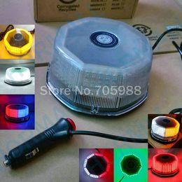 Wholesale Magnetic Flashing Led - 240 Led Magnetic Mount Car Auto Truck Roof LED Beacon Hazard Emergency Recovery Flashing Warning Strobe Light