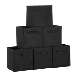 Wholesale Wholesale Toy Stores - Fabric Cube Storage Bins, Foldable, Premium Quality Collapsible Baskets, Closet Organizer Drawers. Perfect to Store Kids Toys