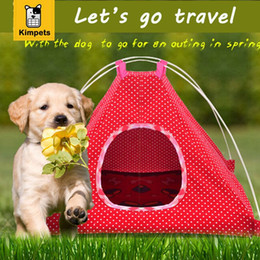 Wholesale Small Dog Beds For Sale - Hot sale pet tent for small dogs travel dog tent bed