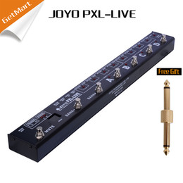 Wholesale Pedal Switcher - JOYO PXL Live Programable Looper Control Station Pedal Switcher Dual 4 channel with MIDI out Buffered bypass Free connector