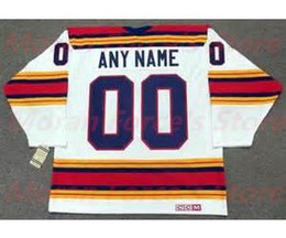 Wholesale Road Number - 2016 New, custom jersey 1974 - 1975 Kansas City Scouts Road Throwback JerseyBlue White Name Number Sewn On XXS-6XL