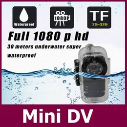 Wholesale Water Proof Hd Cameras - Water proof Mini Camera S1 Metal Body Mini DV Voice cotrol Video record 1080P Full HD network camera IR Night Vision+Free shipping