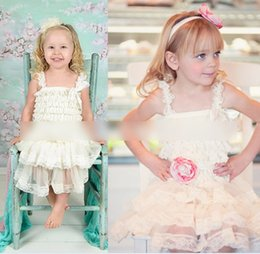 Wholesale Children S Tutu Party Dresses - Customize 2015 Dresses Girls Sleeveless Dress Layered Lace Hollowed Solid Pleated Princess Party Wear Cotton Children Kids Dress K5256