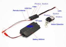 Wholesale Wireless Micro Dvr - NEW Micro-Camera High-definition mini dvr mini SPY video camera smallest wireless camera Spy Cam 32GB supported Free Shipping