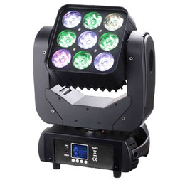 Wholesale Stage Light Led Panel - 9*10W 3x3 Pixel Panel RGBW 4 in 1 DMX512 Control Led Matrix Beam Moving Head Lights Professional Stage Lighting