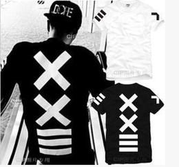Wholesale Hba Red T Shirt - mens t shirts XXlll hip-hop PYREX 23 HBA street fashion short sleeve t shirt Men's T-shirt hoody by air hight quality free shipping