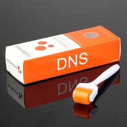 Wholesale Dns Roller - DNS bio genesis titanium 192 200 needles derma roller skin body beauty roller dermaroller
