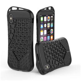 Wholesale Protective Plastic Bumper - Anti Slip sport Armor Case For Apple iPhone X Cover Silicone Bumper Flexible Shockproof Protective Soles Texture Design SCA374