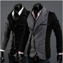 Wholesale Gray Loose Coat - Hot Fashion New Brand Design Mens Blazer Jacket Coats,Casual Slim Fit Stylish Blazers jacket jaqueta esport M-XXL Chaqueta Outdoor Wear