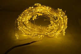 10 M 100 LEDs DC12v Operado Led String Mini LED Cadena de alambre de cobre Luz de Hadas Navidad Navidad Home Party Decoration Light Warm / Pure White desde fabricantes