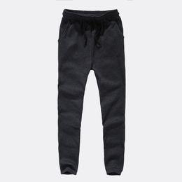 Wholesale Baggy Corduroy Pants - Han edition low-grade slacks baggy pants men's fashion barber foot lift fork haroun pants modelling autumn outfit