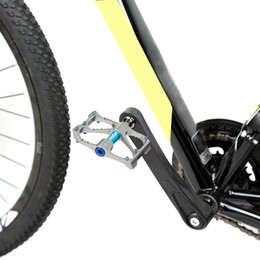 "Wholesale Bike Sealed Bearing - 2Pcs Pair Bicycle Pedal LIXADA Aluminum Alloy Mountain Bike Cycling Pedal Sealed Bearing Platform Pedals 9 16"""