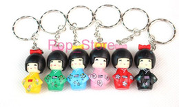 Wholesale figure apple - Japanese puppet Poppy Branch Action Figures key chain Doll Toy Gifts