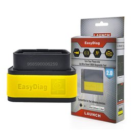 Wholesale Launch Tool X431 - New Arrival Launch X-431 Easydiag X431 auto diag 2 in 1 diagnostic Tool Bluetooth for For iOS & Android