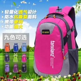 Wholesale Red Travel Bags - Large 60L Outdoor Backpack Unisex Travel Multi-purpose Climbing backpacks Hiking big capacity Rucksacks Camping Sports bags