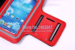 Wholesale S3 Gym Strap - Wholesale-Fashion Sports Running Armband Case for Samsung Galaxy S4 i9500   S3 i9300 Belt Wrist Strap Gym Arm Band Cover Sport Case