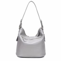 Argentina Diseñador de metal de la borla 100% real de cuero genuino de las mujeres del hombro pequeño bolso bolso de las señoras bolso de Crossbody Suministro