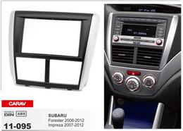 Wholesale Impreza Kit - CARAV 11-095 TOP quality stereo facia surround install trim fit dash kit for SUBARU Forester 2008-2012, Impreza 2007-2012 2-DIN