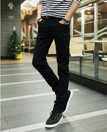 Wholesale Male Sexy Pants - Sell like hot cakes - 2015 Jeans Slim Men Pants Trousers Pencil Pants Male Tights, Sexy Spring Summer